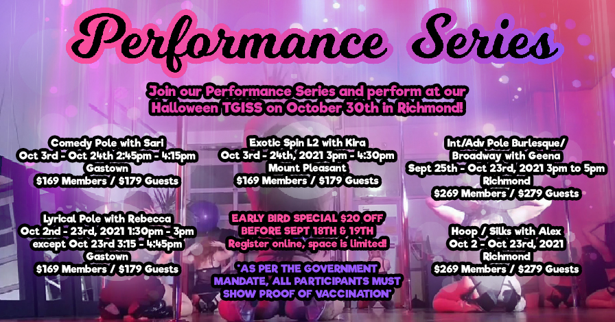 Tantra Fitness October Performance Series'