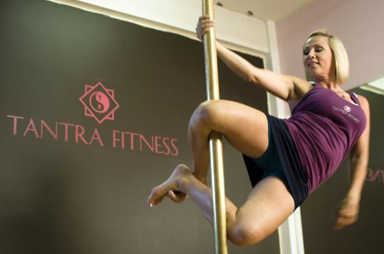 tammy morris founder of tantra fitness pole gynmastics