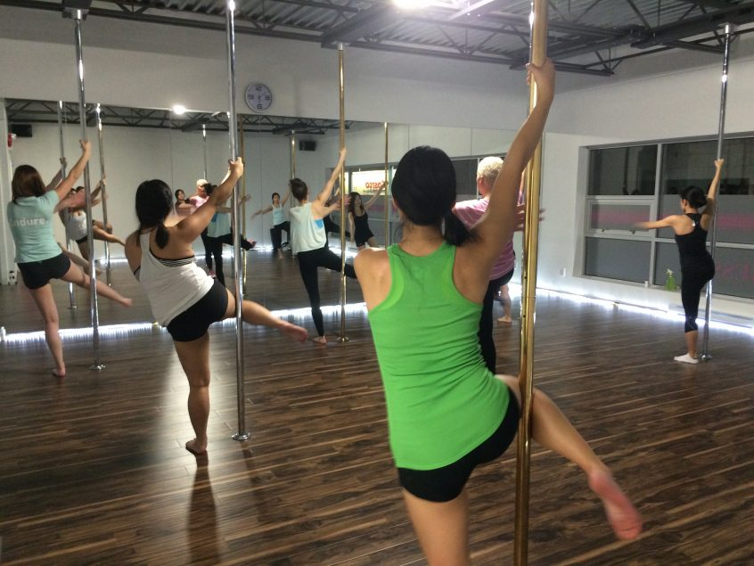 Tantra Fitness Pole Fitness Class Vancouver